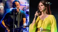 bruce springsteen lana del rey comments best songwriter Bruce Springsteen Wrote His New Album on a Guitar Randomly Gifted to Him by a Fan