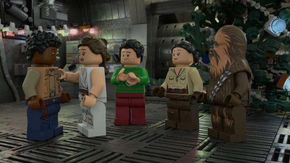 lego star wars holiday special disney plus