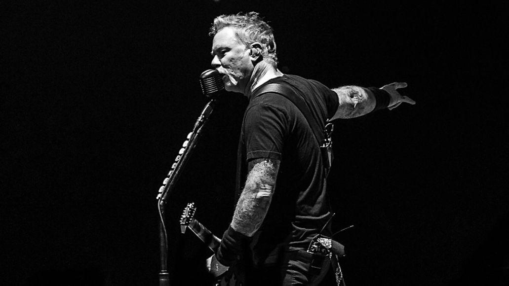 Metallica Hetfield Rehab