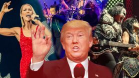 trump inauguration the killers celine dion kiss