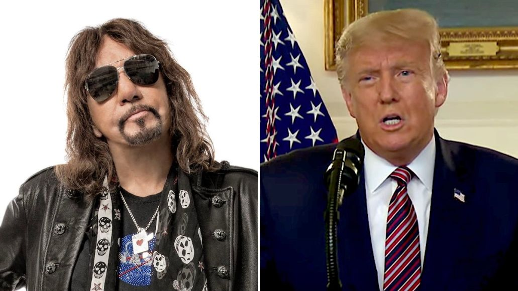 Ace Frehley Supports Trump