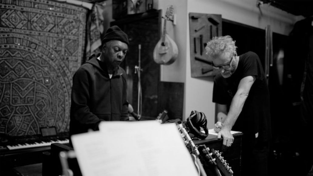 Booker T. Jones and Matt Berninger, Photo by Chris Sgroi