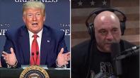 Donald Trump Joe Rogan Moderate Presidential Debate four hour joe biden 2020 presidential campaign president