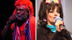 George Clinton (photo by Raj Gupta) and Nina Hagen (photo by Christliches Medienmagazin) Unity new song stream music Black Lives Matter