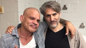Harley Flanagan and Michael Imperioli