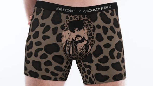 Joe Exotic Underwear Revenge Face Crotch Boxers Briefs Odaingerous Financially Recover Cheetah
