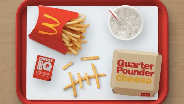 McDonalds Travis Scott Meal Quarter Pounder