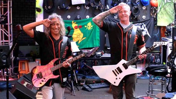 Metallica San Francisco Giants Anthem