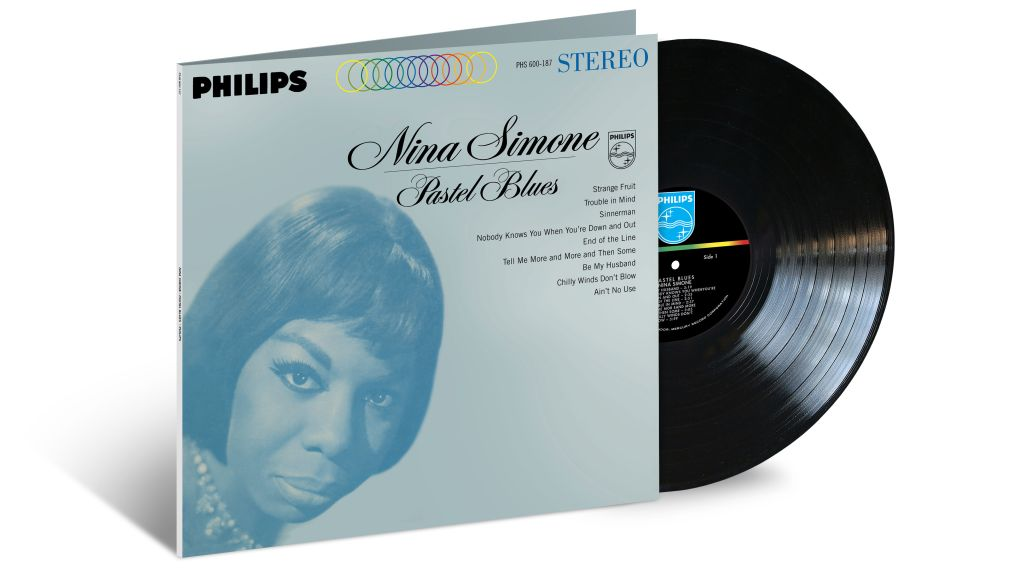 Nina Simone Pastel vinyl