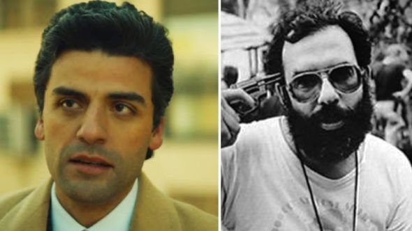 Oscar Isaac and Francis Ford Coppola