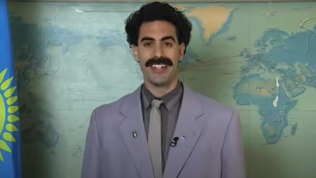 Sacha Baron Cohen in Borat Cultural Learnings of America for Make Benefit Glorious Nation of Kazakhstan (20th Century Fox) Borat 2 sequel streaming movie