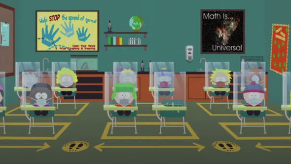 South Park One Hour Pandemic Special trey parker matt stone