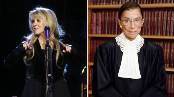 Stevie Nicks / Ruth Bader Ginsburg
