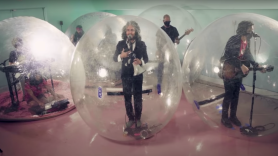 The Flaming Lips God and the Policeman watch stream late night tonight show starring jimmy fallon
