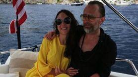 Thom Yorke and Dajan Roncione