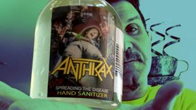 """Anthrax """"Stop Spreading the Disease"""" Hand Sanitizer"""