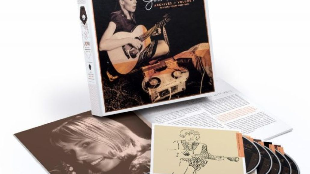 joni mitchell early years vol 1 box set Joni Mitchell Announces Archival Series, Shares Early 1963 Recording of House of the Rising Sun: Stream