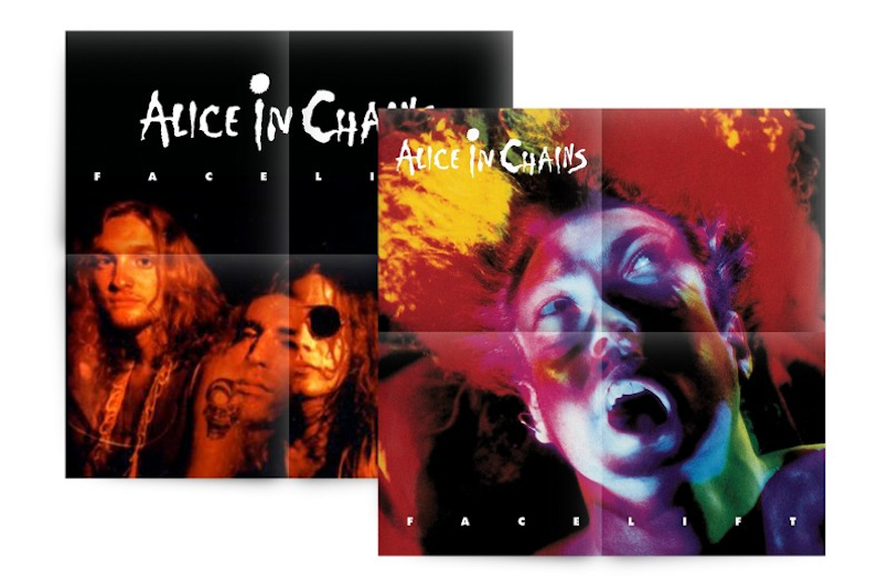 AIC Poster Box Set Alice in Chains to Release Facelift 30th Anniversary Deluxe Box Set