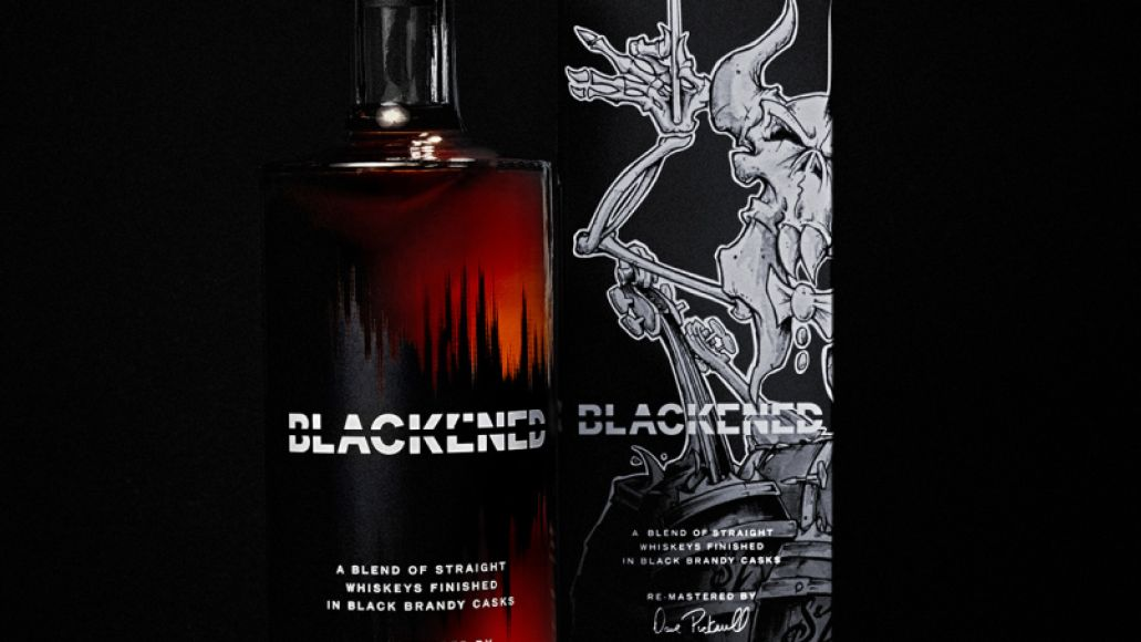 BLKND SM2 4 Metallica Unveil New Batch of Whiskey Made with Soundwaves from Bands S&M2 Concerts