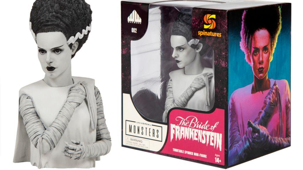 The Bride of Frankenstein Gets Waxwork Vinyl Release and New Spinature Figurine