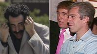 Borat / Donald Trump and Jeffrey Epstein