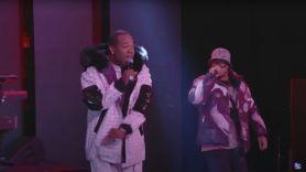 Busta Rhymes Anderson .Paak YUUUU song Jimmy Fallon live watch stream, photo via YouTube/NBC
