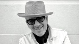 Elvis Costello Hey Clockface stream new album music song, photo courtesy of the artist