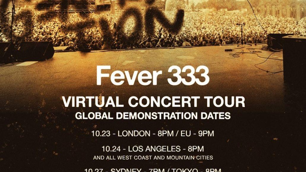 FEVER 333 virtual tour admat