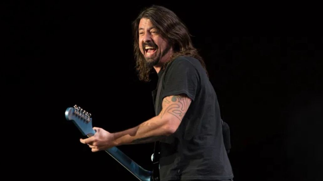 Foo Fighters Live On the Radio 1996 stream new EP music Amazon Foo Fighters, photo by Philip Cosores