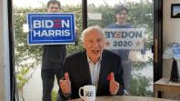 Mel Brooks Endorses Joe Biden, Slams Trump twitter video political