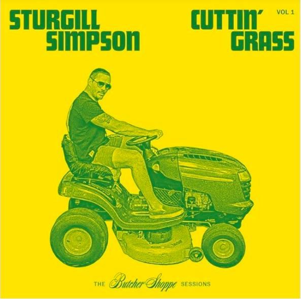 Sturgill Simpson Cuttin Grass Vol 1 artwork Sturgill Simpson Announces First Bluegrass Album Cuttin Grass Vol. 1