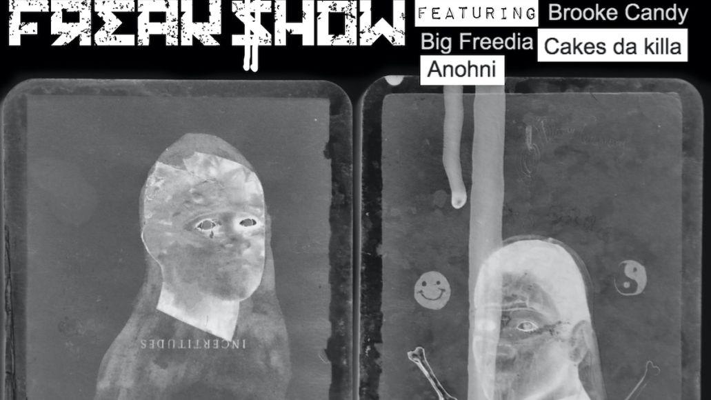 cocorosie end freak show artwork ANOHNI and Big Freedia Join CocoRosie on Rallying New Single End of the Freak Show: Stream