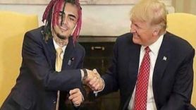 lil pump donald trump endorsement 50 cent