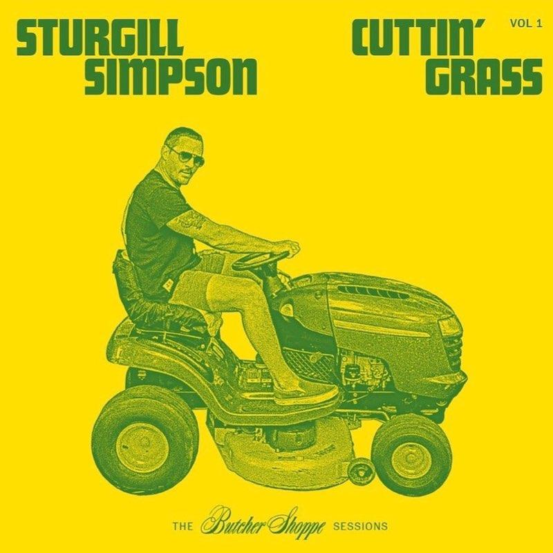 sturgill simpson cuttin grass album artwork