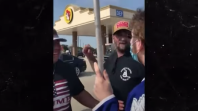 trump supporter punches protester yg ftd song Facebook Pulls Donald Trumps Post Falsely Claiming the Flu is More Lethal Than COVID 19