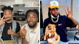 EarthGang Wale Options new song stream music (photo via artist's Instagram)