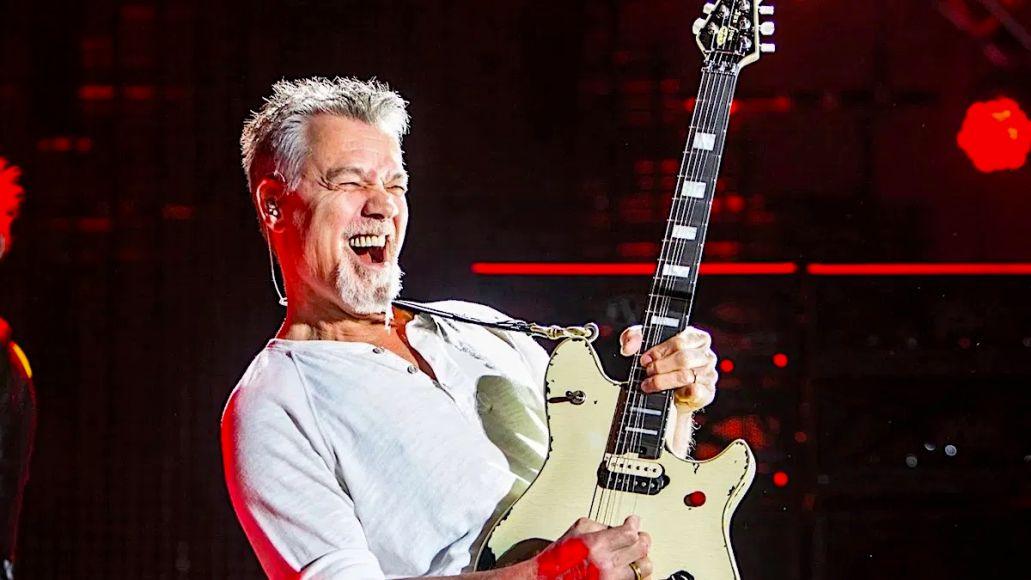 Eddie Van Halen Van Halen farewell tour