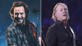 Eddie Vedder James Hetfield Joe Walsh VetsAid