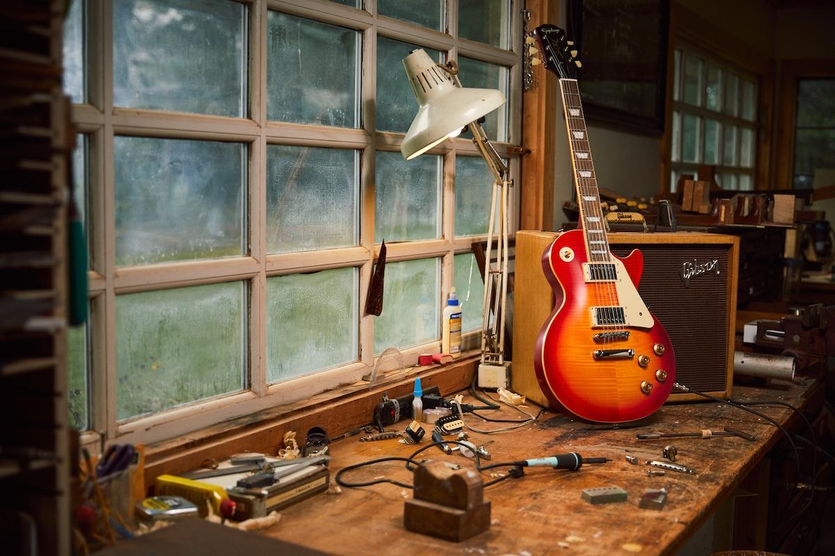 Epiphone 1959 LP Standard Dark Cherry Burst