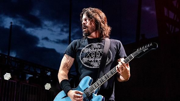 Foo Fighters Dave Grohl death metal band