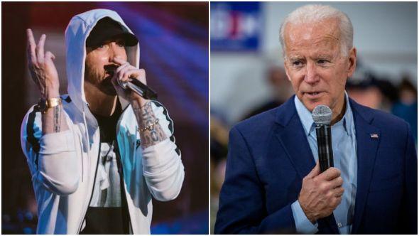"Eminem's ""Lose Yourself"" Featured in Joe Biden Campaign Ad"