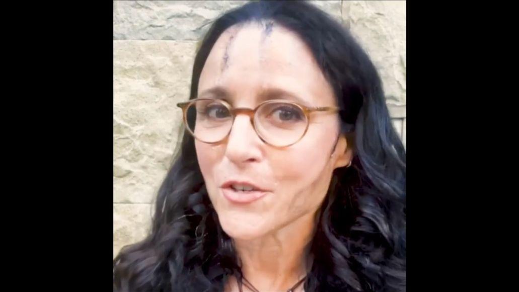 Julia Louis-Dreyfus Spoofs Rudy Giuliani to Announce Veep Table Read Fundraiser georgia
