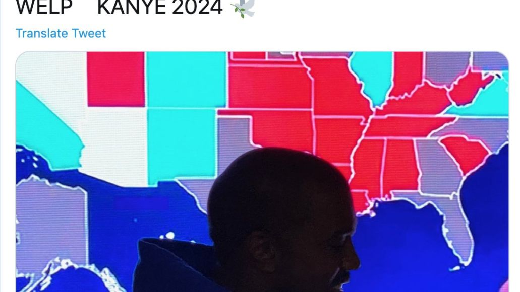 Kanye welp 2020