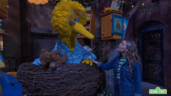 """Maggie Rogers Performs """"It's Nighttime"""" On Sesame Street"""