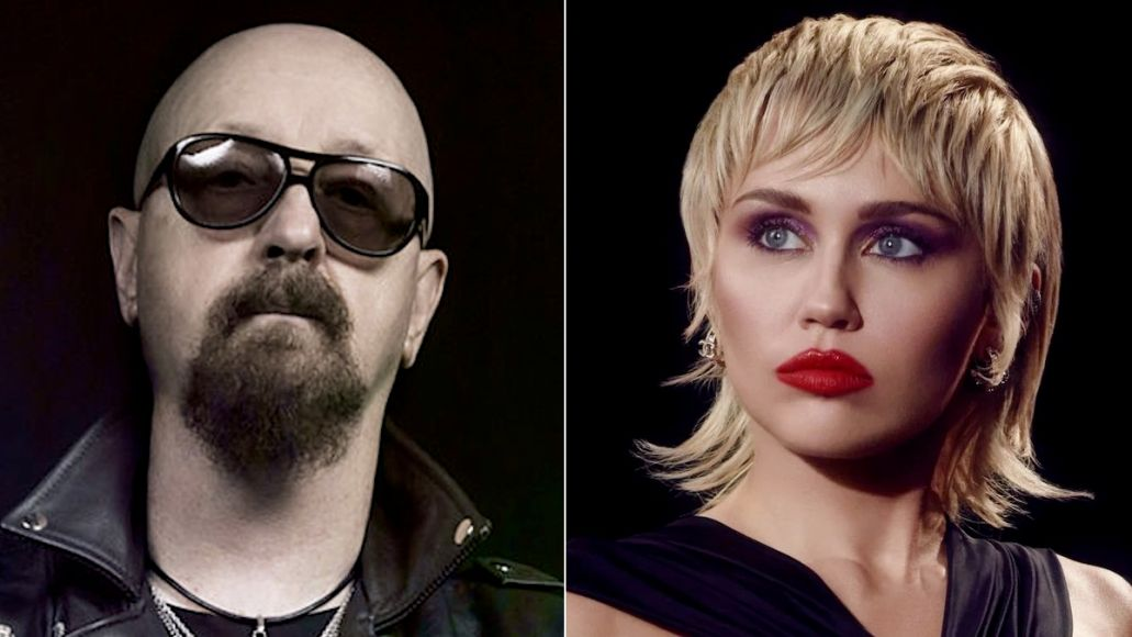 Rob Halford praises Miley Cyrus