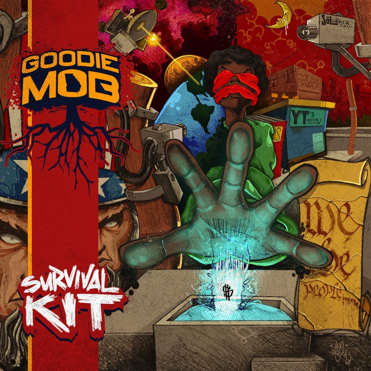 Survival Kit by Goodie Mob album artwork cover art