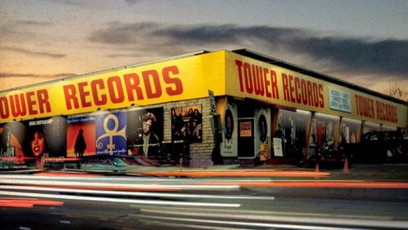 Tower Records online return music store vinyl