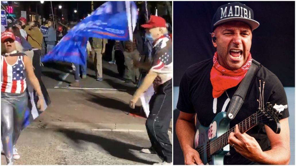 """Trump Supporters Dance to Rage Against The Machine's """"Killing In The Name"""""""