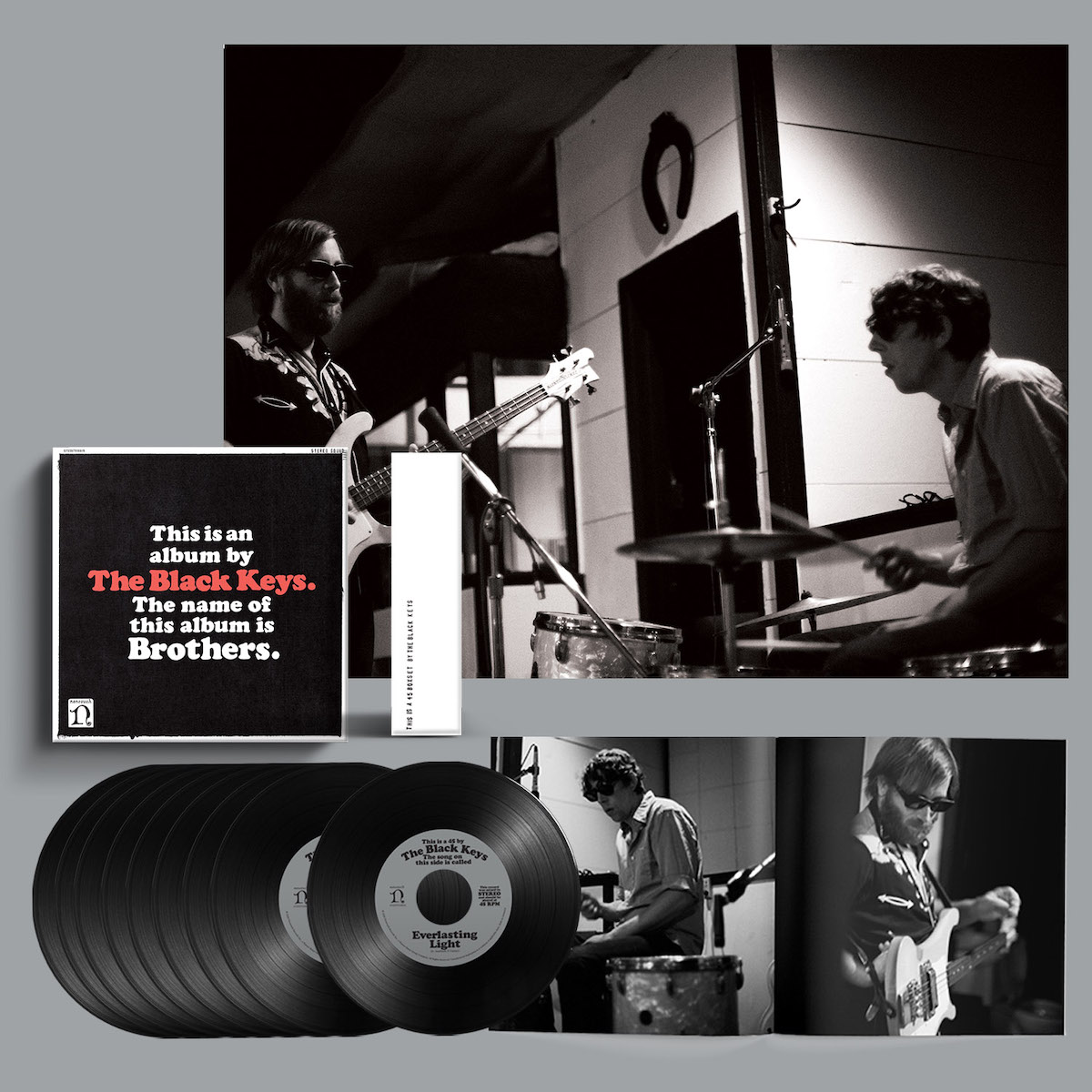 black keys brothers 10th anniversary deluxe reissue 7-inch box set vinyl