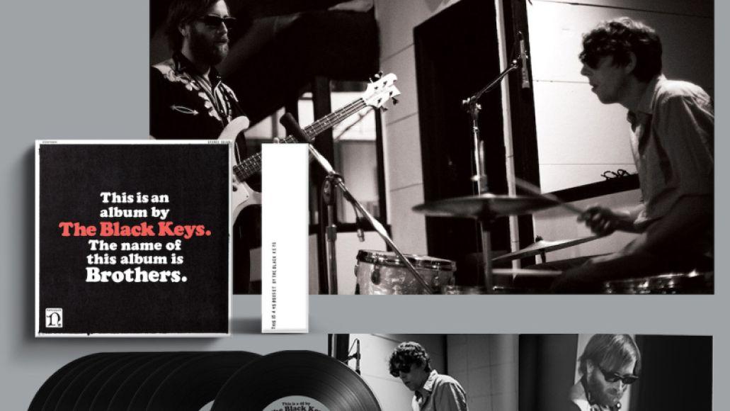 black keys brothers 10th anniversary deluxe reissue 7 inch box set vinyl The Black Keys Unveil 10th Anniversary Deluxe Edition of Brothers: Stream